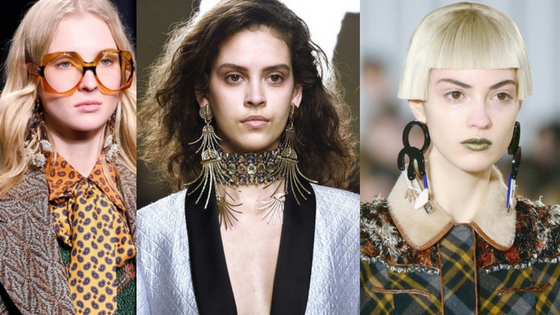 shoulder duster earrings statement fall jewelry trends 2016