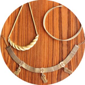 fall jewelry trends metal chokers