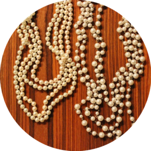 fall jewelry trends pearls necklaces pearl layered pearls