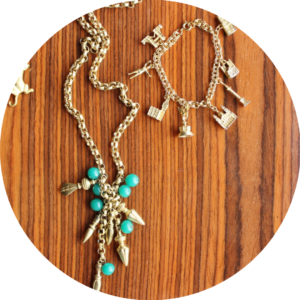 fall jewelry trends talisman charms London charm bracelet bauble necklace