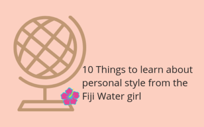 10 Things to learn about personal style from the Fiji Water girl