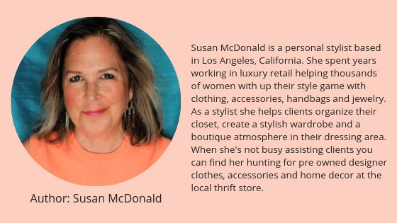 Susan McDonald personal stylist Los Angeles clothing wardrobe closet organization