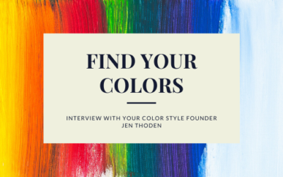 Your Color Style | Interview With Jen Thoden