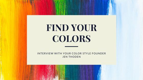your color style jen thoden find your colors